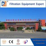 Vollautomatische Raum-Membranen-Filterpresse mit geöffnetem/schloß Filtrat