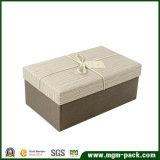 Выдвиженческая изготовленный на заказ коробка подарка бумаги прямоугольника
