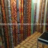 Linoleum precio barato cubierta de piso de respaldo Rolls Rolling