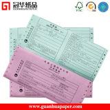 Carta per copie senza carbonio (documento dell'ncr) nel modulo continuo 48g/51g/55g/70g
