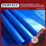 Tissu de polyester enduit tissu recouvert de vinyle de tissu de nylon enduit de PVC