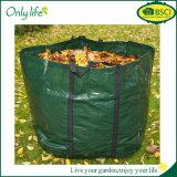 Onlilifeの高品質PE/Oxfordの折りたたみ庭のComposterの庭袋PPの葉袋