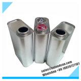 F様式の包装の化学薬品のための印刷のない鋼鉄缶