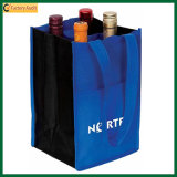 Umweltfreundlicher nicht gesponnener 4 Flaschen-Wein-Beuteltote-Beutel (TP-WB031)