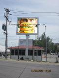 Uso de la isla al aire libre Anti-Rust LED Publicidad Display
