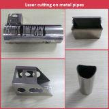 Tubo de metal 500W láser de fibra Máquina de corte de acero al carbono, acero inoxidable Tubos