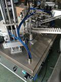 Imbottigliamento automatico che tappa macchina di coperchiamento