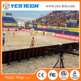 Hohes Sport LED-Bildschirmanzeige-Panel der Definition-P5.9 im Freien RGB