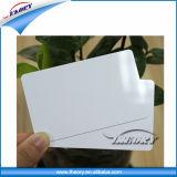 prix d'usine plastique de taille standard en PVC Carte Blanche