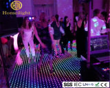 RGB acrilico Dance Floor LED video Dance Floor per la barra del partito della fase