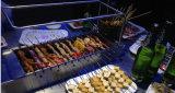 전기 가스 BBQ 기계 Kebab 석쇠 기계