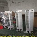 Étalage tournant acrylique d'étalage des lunettes de soleil DEL de qualité