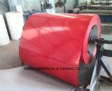 El color del material para techos Dx51d 0.2mm-2.0m m cubierto prepintó la hoja de acero galvanizada Gi/PPGI de la bobina