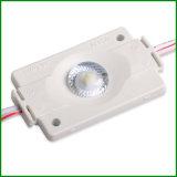 160 graus que anunciam o módulo do luminoso do diodo emissor de luz de SMD3030 1.5W com lente