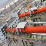 Estufa giratória de eficiência elevada para a bauxite, Bentonite, cimento