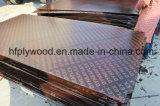 a película da madeira compensada de 15mm enfrentou a madeira compensada da película de Brown da madeira compensada