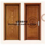 Porte en bois de la série PVC/MDF de protection de l'environnement