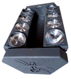 8*10W Spider LED Moving Head Beam Light