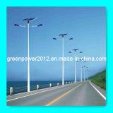Lámpara solar de la luz de calle dos, 50W doble
