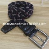 Gli accessori tessuti uomini di modo lavorano a maglia la cinghia elastica