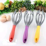 Plástico/batedor ovo do silicone/aço inoxidável/Whister/misturador do ovo
