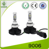 Faro H4 6000lm dell'indicatore luminoso LED dell'automobile di X3 Philips LED