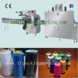 Macchina automatica di imballaggio con involucro termocontrattile del filato cucirino (FFB)