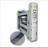 Impresión acanalada automática de alta velocidad de Flexo que ranura la maquinaria que corta con tintas