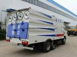 Camion di pulizia della strada 5m3 della spazzatrice di vuoto di Isuzu 4*2