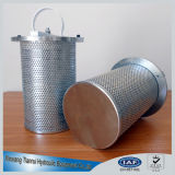 316 os filtradores da Cesta de aço inoxidável para uma eficaz remoção de partículas grandes