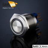 С БЛОКИРОВКОЙ Langir Anti-Vandal электрический переключатель металла L22 (DIA. 22мм) кольцо из нержавеющей стали с подсветкой
