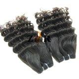 Cheveux humains brésiliens de Vierge normale non transformée de la pente 7A