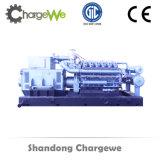 Generatore alimentato a gas della biomassa 600kw dei trucioli di alta efficienza con le parti di Genset