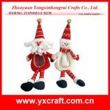 Juguete del regalo de los alces de la Navidad de la decoración de la Navidad (ZY14Y351-1-2-3)