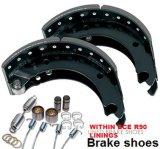 Vrachtwagen en Trailer Brake Shoe met ECE R90 Linings