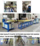 Plastikmaschine für die Herstellung des Rand-Streifenbildungs-Dekoration-Bandes