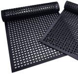 Noir Wearing Rubber Flooring / paillassons en caoutchouc résistant