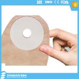 Wegwerf1-piece Ostomy Beutel mit Schaumgummi-Haut-Sperre und vor geschnittener Größe 25mm