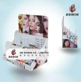 Heiße verkaufende kundenspezifische Pappstandplatz Displayy Knall-Kostenzähler-Bildschirmanzeige-kosmetische Point of Sale Bildschirmanzeige