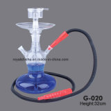 Neue Design All Glass Kaya Skull Huka Shisha mit LED Light