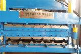 Het hydraulische Broodje die van de Laag van de Tegel van het Staal van de Kleur Dubbele Machine vormen