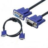 5m noir nickelé combinaison câble VGA mâle à femelle
