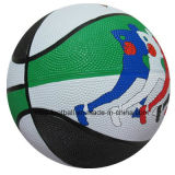 تصميم معقّدة مطّاطة كرة سلّة لعب
