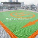 GRP решетку из стекловолокна на крыше здания 38*38*38мм. 50*50*50 мм