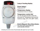70X180cm Infrared и нефрит Mattress Anion Thermal