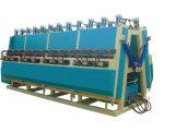Macchina funzionante di legno del compositore idraulico laterale del riscaldamento due
