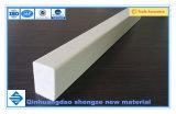 Perfil de rectángulo de plástico reforzado con fibra de fibra de vidrio, material de planta rectangular, GRP Barra rectangular