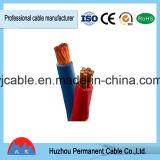Puerto de Ningbo colores aislamiento de PVC cableado eléctrico de un solo núcleo