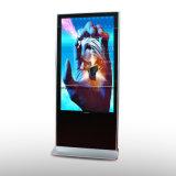 スタンドアロン55インチUSB完全なHD LCDスクリーンのデジタル表記