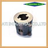 Ar15-roestvrij Staal CNC die het Aluminium van de Draaibank van het Deel machinaal bewerkt